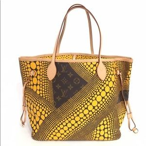 LOUIS VUITTON KUSAMA  NF MM EUC ALMOST NEW